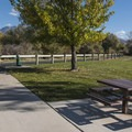 Shield's Lane Trailhead has a small park and a few picnic tables.- Jordan River Parkway Road Cycling