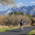 Gorgeous scenery along the ride.- Jordan River Parkway Road Cycling