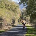 Biking on the Jordan River Parkway.- Jordan River Parkway Road Cycling