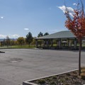 There is a pavillion at the East Riverfront Trailhead, 10991 S River Front Parkway.- Jordan River Parkway Road Cycling