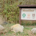 The entrance to Mueller Park.- Mueller Park Trail Mountain Bike Ride to Big Rock