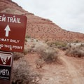 The JEM Trailhead.- Hurricane Cliffs Mountain Biking: JEM