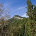 View of Kessler Peak from Mill D Trail.  - Kessler Peak Loop Hike via Carbonate Pass
