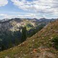 Cardiff Fork from Carbonate Pass.  - Kessler Peak Loop Hike via Carbonate Pass
