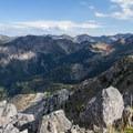 View across Cardiff Fork from the summit of Kessler Peak.- Kessler Peak Hike via the North Route