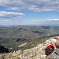 Taking in the views from Kessler Peak.  - Kessler Peak Hike via the North Route