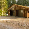 There are main washrooms in each section of the campground.- Gold Creek Campground