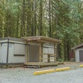 Concessions are open during the day in the peak seasons.- Gold Creek Campground