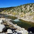 Arkansas River in Buena Vista.- Arkansas River Trail Hike