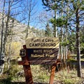 The entrance to Fulford Cave Campground.- Fulford Cave Campground
