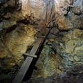 One of a couple cave exits. - Fulford Cave