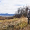 Enjoying the Cottontail Trail.- Dutch Hollow Trail System Mountain Biking