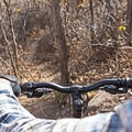 Heading back down Sage.- Dutch Hollow Trail System Mountain Biking
