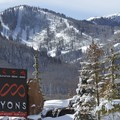 Canyons Ski Resort is just about 2 miles away from McPolin Farm.- The McPolin Farm