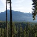 The Legacy Climb Trail offers a nice view.- Diamond Head Mountain Bike Trails: Half Nelson + Full Nelson Loop