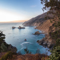 View north from McWay Falls.- Julia Pfeiffer Burns State Park