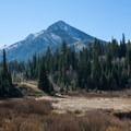 Kessler Peak from Reynolds Flat.  - Kessler Peak Hike via the North Route