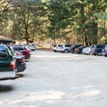 Parking at Castle Rock State Park.- Saratoga Gap, Ridge Trail + Castle Rock Loop Hike