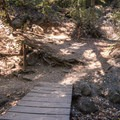 Saratoga Gap intersects the Ridge Trail.- Saratoga Gap, Ridge Trail + Castle Rock Loop Hike