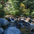 Stream from White Pine Canyon.  - Pfeifferhorn Peak Climb
