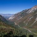 Little Cottonwood overlook.  - Pfeifferhorn Peak Climb