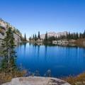 Red Pine Lake.  - Pfeifferhorn Peak Climb