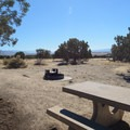 Nice level areas to set up camp.- North Fruita Desert Campground, 18 Road Camping