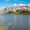 The Green River.- Green River Campground