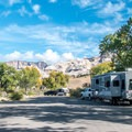 Typical campground road.- Green River Campground