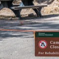 Many sites were closed for renovation work.- Green River Campground