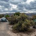 Tent camping at James M. Robb Park.- Fruita Campground