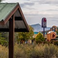 For better or worse, the campground is close to civilization.- Fruita Campground