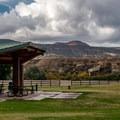 Day use picnic area.- Fruita Campground