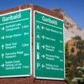 It's difficult to get lost with the quality signage throughout Garibaldi Provincial Park. - Black Tusk Hike