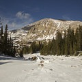 Chief's Head Peak near Lion Lake 1..- Lion Lakes Hike