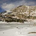 Chief's Head Peak above Lion Lake 1.- Lion Lakes Hike