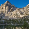 Rae Lakes.- John Muir Trail Section 4