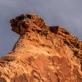 Life on the edge.- Monument Canyon Trail Hike