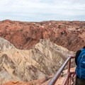 The second overlook is worth the extra distance.- Upheaval Dome Hike