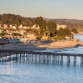 The pier at Capitola.- Capitola Beach