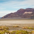 Panamint Mountains in Death Valley National Park.- Death Valley National Park