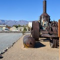 Old Dinah, an 1894 steam tractor. - Death Valley National Park