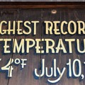 The site of the hottest temperature ever recorded.- Death Valley National Park