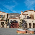 Scotty's Castle in Death Valley National Park.- Death Valley National Park