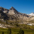 The area around Evolution Lake is beautiful country.- John Muir Trail Section 3