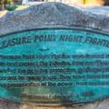 Pleasure Point Night Fighters plaque.- Pleasure Point