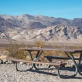Camping with great views.- Emigrant Campground