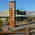 Store and gas station at Stovepipe Wells. - Stovepipe Wells Campground