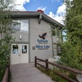 Visitor's center at Silver Lake.- Silver Lake Loop Trail Hike