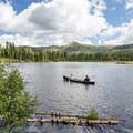 Bring your canoe and go for a picnic paddle.- Silver Lake Loop Trail Hike